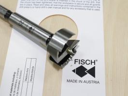 Сверло Форстнера с волнообразной режущей кромкой Fisch Wave Cutter, D25мм