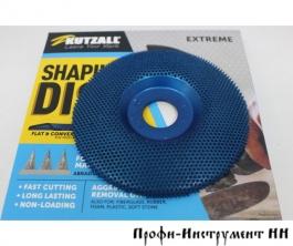 Диск шлифовальный Kutzall Shaping Disc, плоский, синий, coarse (extreme), D115мм, посадка 22мм