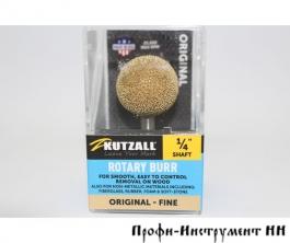Шлифовальная головка Kutzall, шарообразная, D25.4мм, Fine (Original), хвостовик 6.35мм