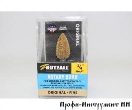 Шлифовальная головка Kutzall, конусная скруглённая, D12.7*25.4мм, Fine (Original), хвостовик 6.3мм