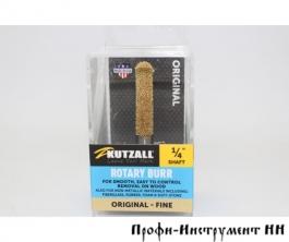 Шлифовальная головка Kutzall, полукруглая, D6.3мм*38.1мм, Fine (Original), хвостовик 6,3мм