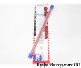 Стержни для карандаша,красные, Shinwa, 2мм, 78474