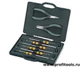 Набор инструментов для электроники KNIPEX 00 20 18 ESD
