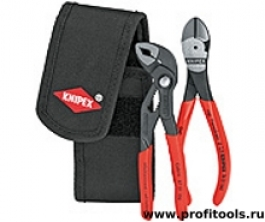 Набор с клещами в поясной сумке KNIPEX 00 20 72 V02