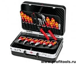 Набор инструментов для электромонтажа ELEKTRO KNIPEX 00 21 20