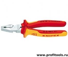 Плоскогубцы комбинированные особой мощности KNIPEX 02 06 180