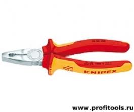 Плоскогубцы комбинированные KNIPEX 03 06 180