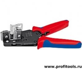 Прецизионный инструмент для удаления изоляции с фасонными ножами KNIPEX 12 12 10