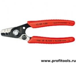 Инструмент для удаления изоляции для световодов KNIPEX 12 82 130 SB