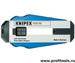 Инструмент для снятия изоляции для световодов KNIPEX 12 85 100 SB