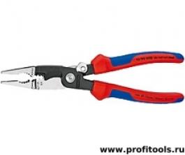 Многофункциональные клещи для электромонтажных работ KNIPEX 13 92 200