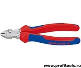 Кусачки боковые для удаления изоляции KNIPEX 14 25 160