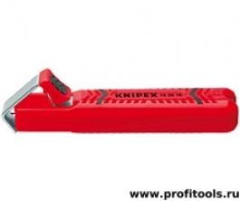 Инструмент для удаления оболочек круглого кабеля Knipex 16 20 28 SB
