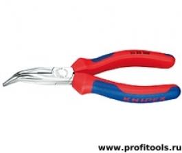 Круглогубцы с плоскими губками и режушими кромками KNIPEX 25 25 160