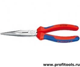 Круглогубцы с плоскими губками с режущими кромками KNIPEX 26 16 200