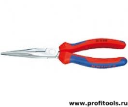 Круглогубцы с плоскими губками с режущими кромками KNIPEX 26 15 200