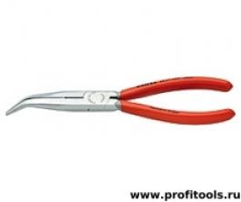 Круглогубцы с плоскими губками с режущими кромками KNIPEX 26 21 200