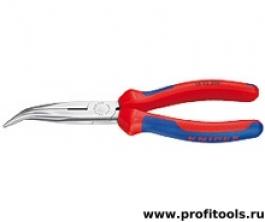Круглогубцы с плоскими губками с режущими кромками KNIPEX 26 22 200