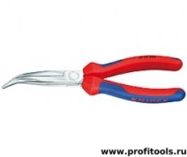 Круглогубцы с плоскими губками с режущими кромками KNIPEX 26 25 200