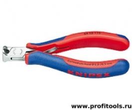 Кусачки торцевые для электроники KNIPEX 64 12 115