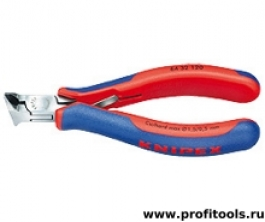 Кусачки торцевые для электроники KNIPEX 64 32 120