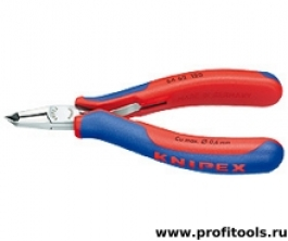 Кусачки торцевые для электроники KNIPEX 64 62 120