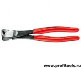 Кусачки торцевые особой мощности 200 мм KNIPEX 67 01 200