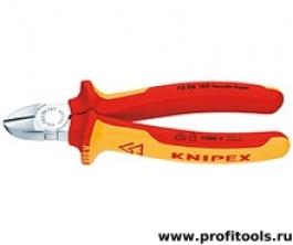 Кусачки диагональные 125 мм KNIPEX 70 06 125