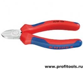Кусачки боковые для пластмассы KNIPEX 72 02 125