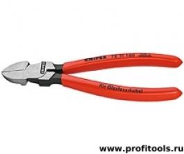 Кусачки боковые для световодов KNIPEX 72 51 160