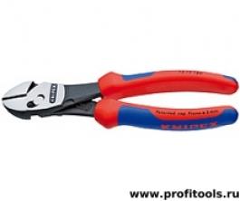 Кусачки боковые высокой мощности TwinForce® KNIPEX 73 72 180