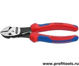 Кусачки боковые высокой мощности TwinForce® KNIPEX 73 72 180F