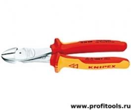 Кусачки боковые особой мощности KNIPEX 74 06 200