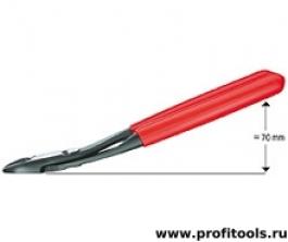 Боковые кусачки особой мощности KNIPEX 74 21 250
