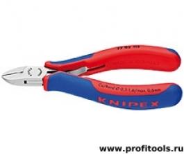 Кусачки боковые для электроники KNIPEX 77 02 115
