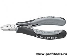 Кусачки боковые для электроники KNIPEX 77 02 115 ESD