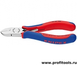 Кусачки боковые для электроники KNIPEX 77 02 130