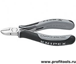 Кусачки боковые для электроники KNIPEX 77 12 115 ESD