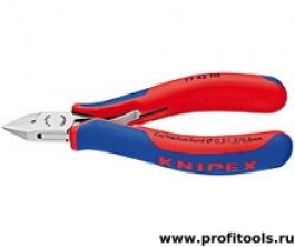 Кусачки боковые для электроники KNIPEX 77 42 115