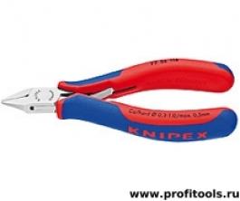 Кусачки боковые для электроники KNIPEX 77 52 115