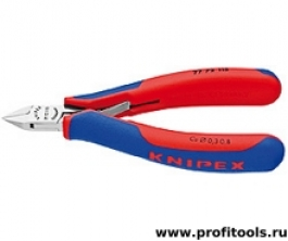 Кусачки боковые для электроники KNIPEX 77 72 115