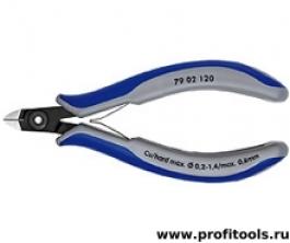 Прецизионные кусачки боковые для электроники KNIPEX 79 02 120