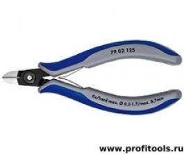 Прецизионные кусачки боковые для электроники KNIPEX 79 02 125