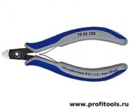Прецизионные кусачки боковые для электроники KNIPEX 79 22 120