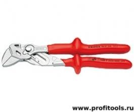 Клещи переставные-гаечный ключ KNIPEX 86 07 250