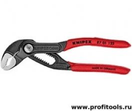 Высокотехнологичные сантехнические клещи Cobra® KNIPEX 87 01 125