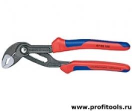Высокотехнологичные сантехнические клещи Cobra® KNIPEX 87 02 180