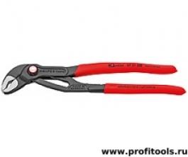 Высокотехнологичные сантехнические клещи Cobra® QuickSet KNIPEX 87 21 250