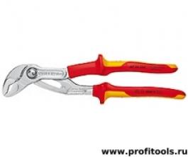Высокотехнологичные сантехнические клещи Cobra® VDE KNIPEX 87 26 250