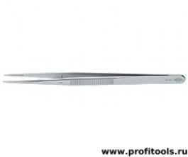 Пинцет для прецизионных работ, с направляющим штифтом KNIPEX 92 24 34